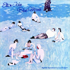 """Blue Moves"" (1976) Was One Of Elton's Moodiest Albums Ever, And Something Entirely Removed From ""Goodbye Yellow Brick Road"" (The Only Other Double Album He Ever Issued)"