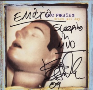 """Dream All Day"" Was The Posies' First Anthology Ever. It Came In The Year 2000, And While It Included All Their Radio Hits It Bypassed Their Independent Years. This Is My Copy, Autographed By Ken Stringfellow When He Come To Uruguay. He Was A True Star And A Gentleman."