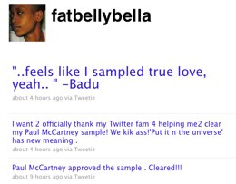 Erykah Badu Gets A Sample Clearance From Paul McCartney Using Twitter