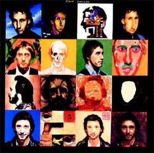 The Cover Of The Who's Face Dances Was Devised By Peter Blake (He Who Designed The Cover Of Sgt. Pepper's). He Approached 15 DIfferent Artists To Paint The Canvasses.