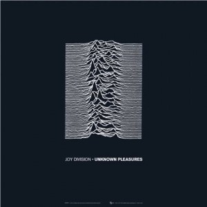 "The Cover Of ""Unknown Pleasures"" (Joy Division's Debut Album) Featured The Textured Graph Of A Star Going Supernova Over A Plain Black Background."