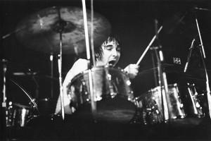 Keith Moon In Full Swing