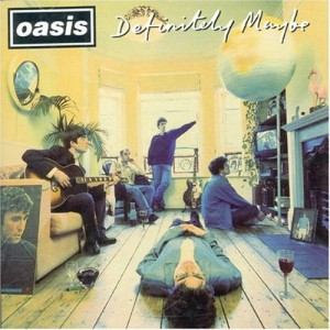 "Bonehead's Front Room Was Captured In The Cover Of Oasis' Debut, ""Definitely Maybe"" (1994)."