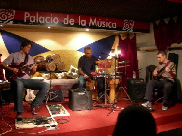 Pablo Faragó, Cacho Rodríguez & Jose Ignacio Landoni.