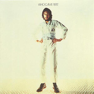 Pete Townshend As Depicted On The Cover Of His First Solo Record, Who Came First