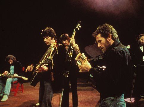 "The Band Performing Live At ""The Last Waltz"" Concert"