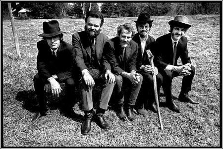 The Band: Richard Manuel, Garth Hudson, Levon Helm, Robbie Robertson & Rick Danko