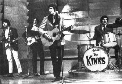 The Kinks Were Ray Davies (Guitar, Lead Vocals), Dave Davies (Lead Guitar), Pete Quaife (Bass) & Mick Avory (Drums).