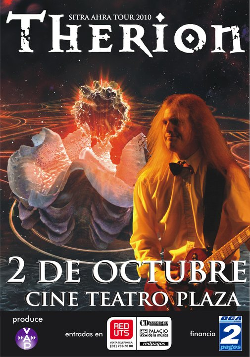 Therion Is Coming To Uruguay For The Very First Time This Year
