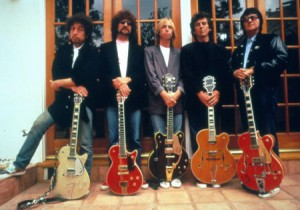 Bob Dyln, Jeff Lynne, Tom Petty, George Harrison & Roy Orbison
