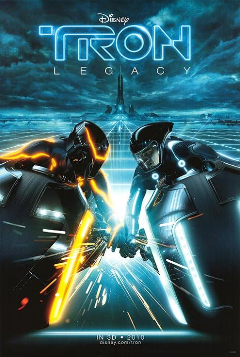 One Of The Many Promotional Posters From Tron: Legacy