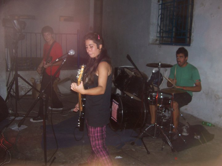 Picnic Playing Live. Left To Right: Mato, So and Germán.