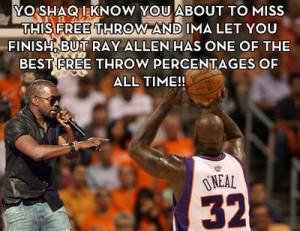 Kanye & Shaq