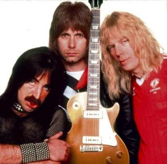 Spinal Tap: Derek Smalls, David St Hubbins and Nigel Tufnel