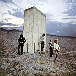 A classic rock & roll image, the cover of The Who's undisputed masterpiece was chosen over a shot featuring Keith Moon on wig and corset (!).